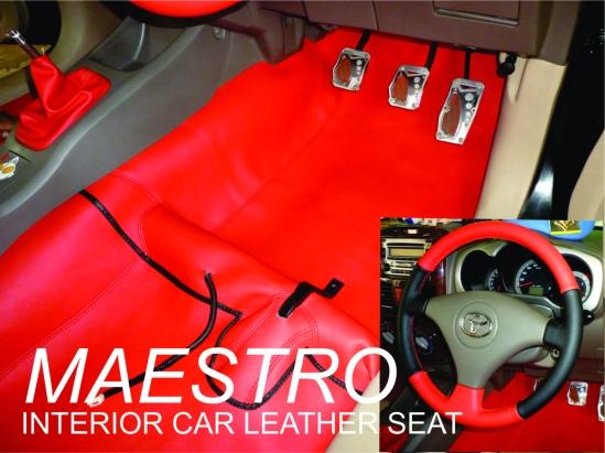 Karpet Dasar Model Custom Untuk Mobil Toyota Rush Dengan