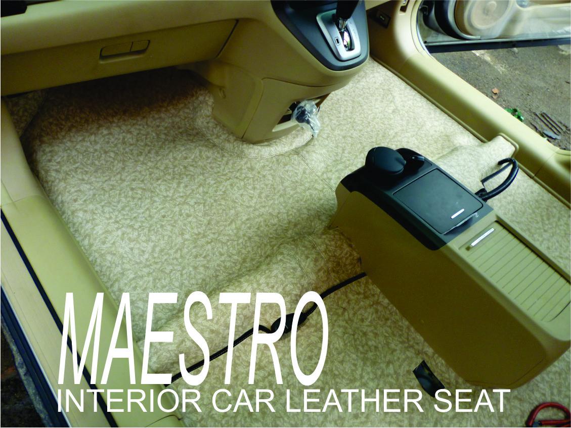 Karpet Dasar Mobil Honda New CRV 2012 Model Custom Dengan