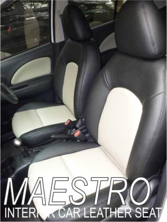 Modifikasi Interior Nissan March Sarung Jok Mobil Paten