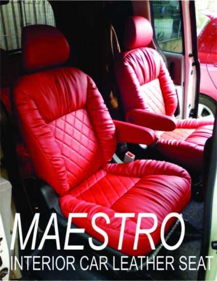 modifikasi interior untuk jok mobil honda freed dengan model garsson