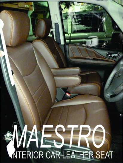 Modifikasi interior Nissan Serena Highway Star 2013 dengan bahan