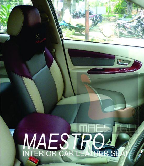 modifikasi interior untuk toyota innova MAESTRO