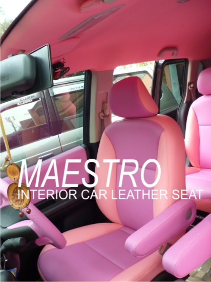 interior honda freed warna pink dan ungu