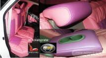 jok mobil warna pink